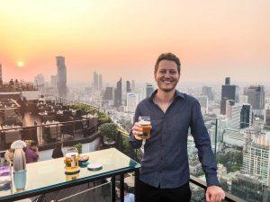 Skybar mit Aussicht in Bangkok