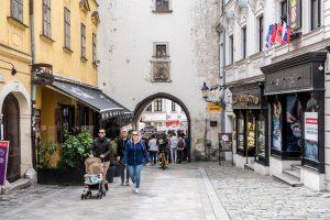 Das Michaeler Tor Bratislava