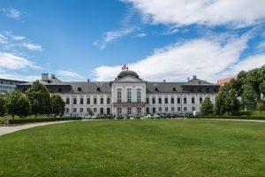 Präsidentenpalast mit Park