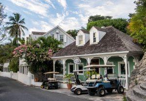 Schöne Häuser auf Harbour Island