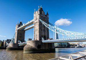 Blick auf London Bridge, die im London pass Preis enthalten ist
