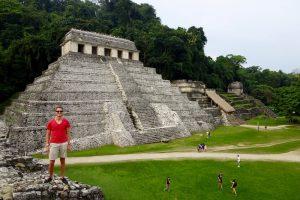 Palenque Pyramiden Mexiko