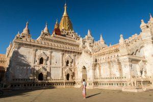 Tempelanlage in Myanmar als eine der schönsten Sehenswürdigkeiten