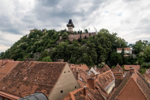 Blick auf Schlossberg