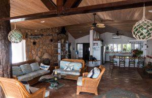 Innenraum von Villa in Long Island
