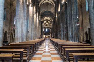 Innenraum der Kathedrale in Trient