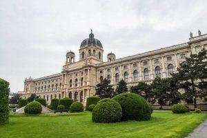 Außenansicht von Kunsthistorischem Gebäude Wiens