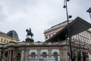 Außenansicht vom Albertina Museum Wien