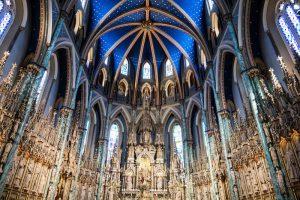 Decke der Kathedralbasilika Notre Dame Ottawa