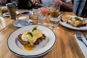 Frühstück Brunch Tisch