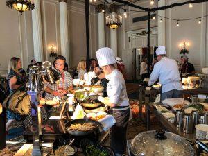 Essen im Fairmont Chateau Laurier