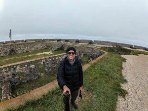 Selfie an der Festung
