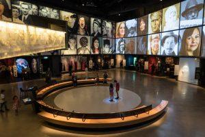 Raum im Museum für Menschenrechte