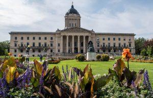 Das Legislative Building als eine der Winnipeg Sehenswürdigkeiten