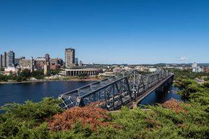 Aussicht auf Ottawa und Fluss