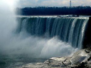 Wasserfall Panorama