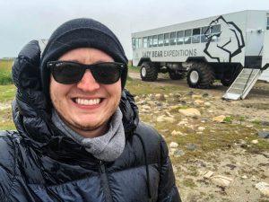 Selfie for dem Arctic Crawler