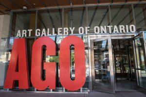 Eingang der Art Gallery of Ontario