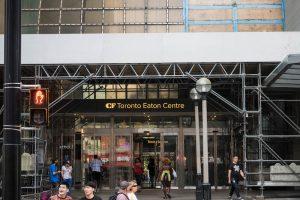Eingang zum Eaton Centre