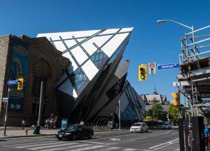 Das Museum von außen ist eine berühmte Toronto Sehenswürdigkeit und ein echtes Highlight