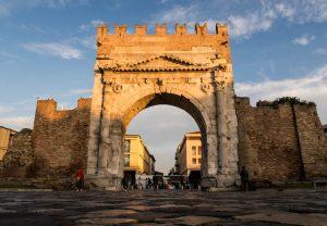 Arco di Augosto Bogen in Rimini
