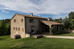 Bauernhaus in San Marino mit Aussicht