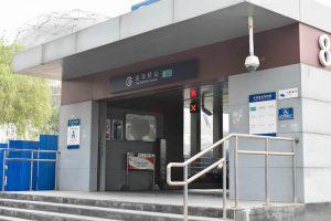 Metro station in Beijing