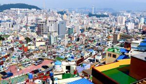 Aussicht auf Busan