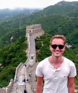 Ich an der chinesischen Mauer