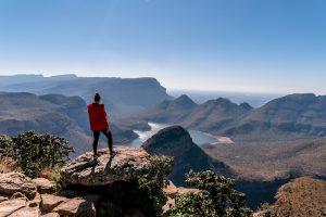 Ausblick auf Natur im Krüger Nationalpark während der Backpacking Südafrika Reise