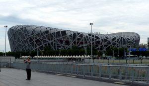 Vogelnest Stadion in der Olympiastadt