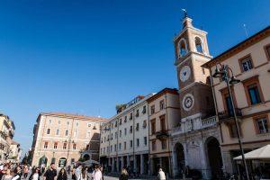 Plätze der Rimini Altstadt