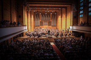 Philharmonie von Sofia von innen