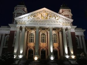 Das Nationaltheater in Sofia Bulgarien