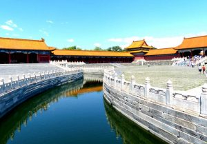 The canal in the forbidden city