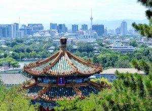 Aussicht auf Peking
