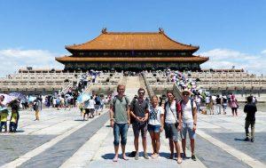 In der verbotenen Stadt in Peking