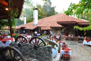 Vodenica Restaurant von außen