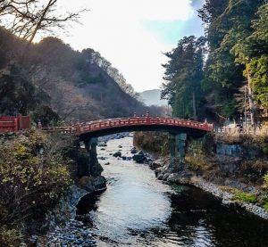 Shinkyo Brücke als Sehenswürdigkeit in Nikko