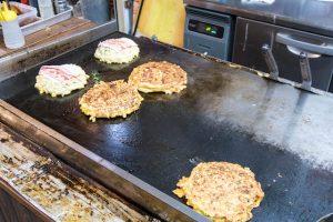 Zubereitung von Okonomiyaki
