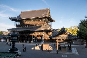Higashi Hongan-ji Tempel Kyoto von außen