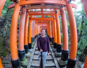 Torii Schrein in Kyoto