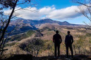Aussichtspunkt auf Hügel