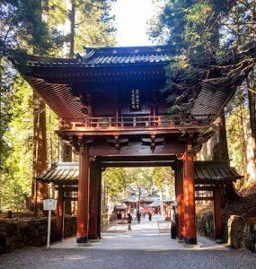 Schrein-Anlage in Nikko Japan