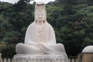 Buddha Statue im Tempel