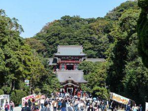 Tsurugaoka Hachiman-gu Schrein als eine der Kamakura Sehenswürdigkeiten