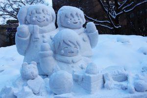 Winter-Festival in Sapporo