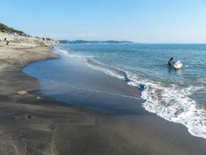 Strand als Sehenswürdigkeit in Kamakura