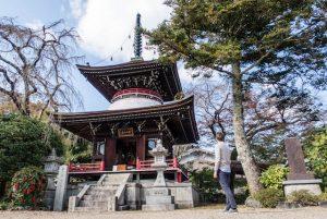 Tempelanlage in Yoshino Nara