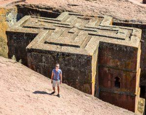 Felgenkirche Lalibela im Äthiopien Reiseblog